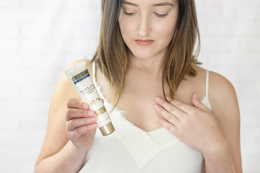 Gold Bond Neck & Chest Cream Review | A Good Hue