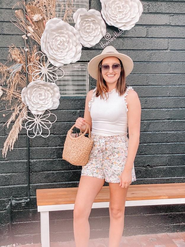 Transitioning Paper Bag Shorts for Fall | A Good Hue