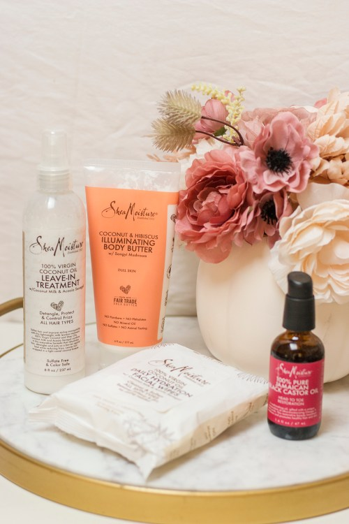 SheaMoisture Beauty Favorites