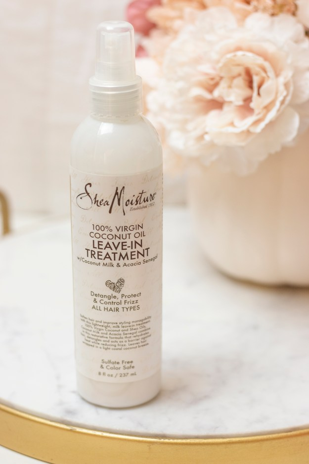 SheaMoisture Coconut Leave-In Hair Treatment | A Good Hue