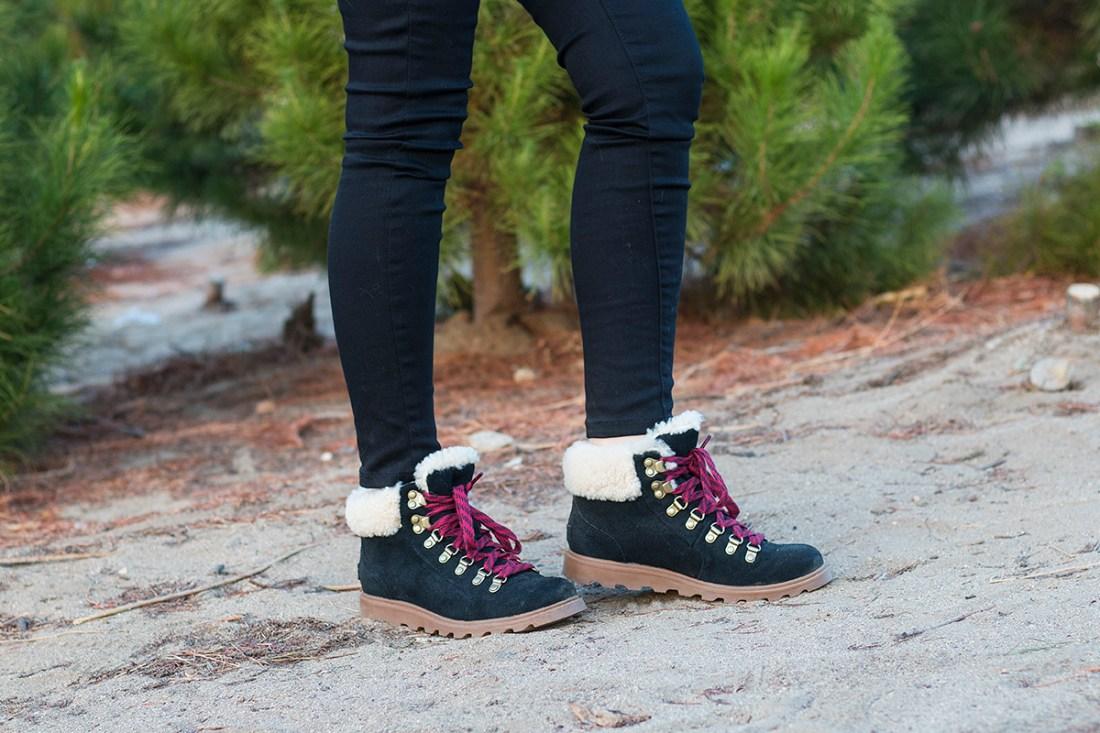 Sorel Ainsley Conquest Shearling Boots | A Good Hue
