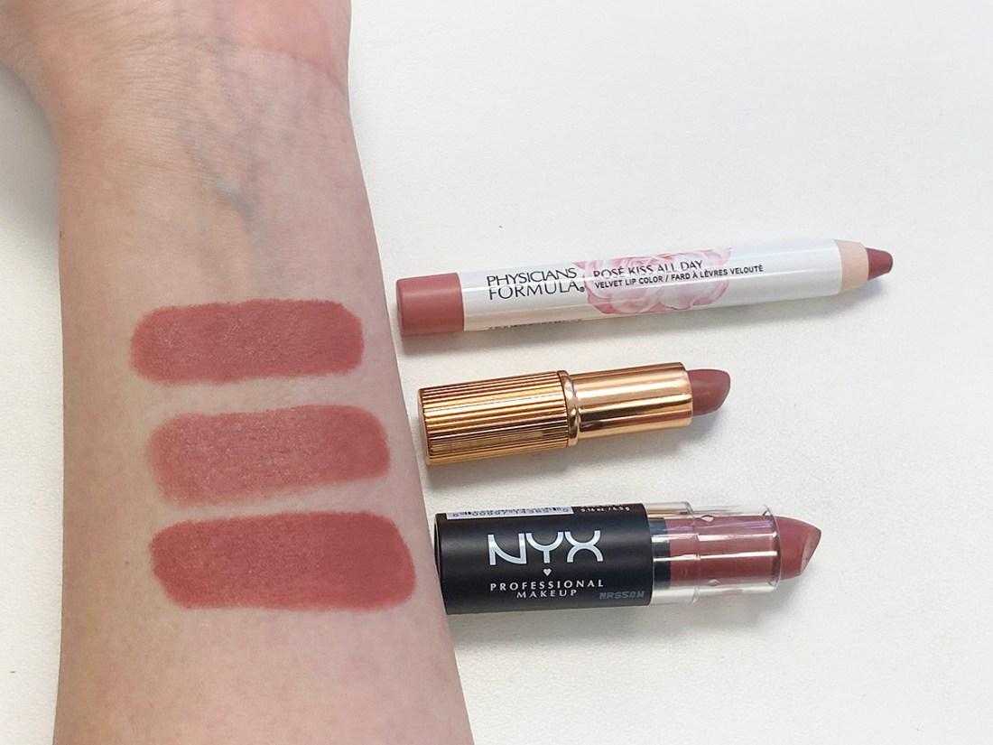 Pillow Talk Lipstick Drugstore Dupes | A Good Hue