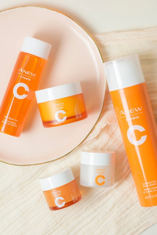 Radiant Skin for Summer with Anew Vitamin C