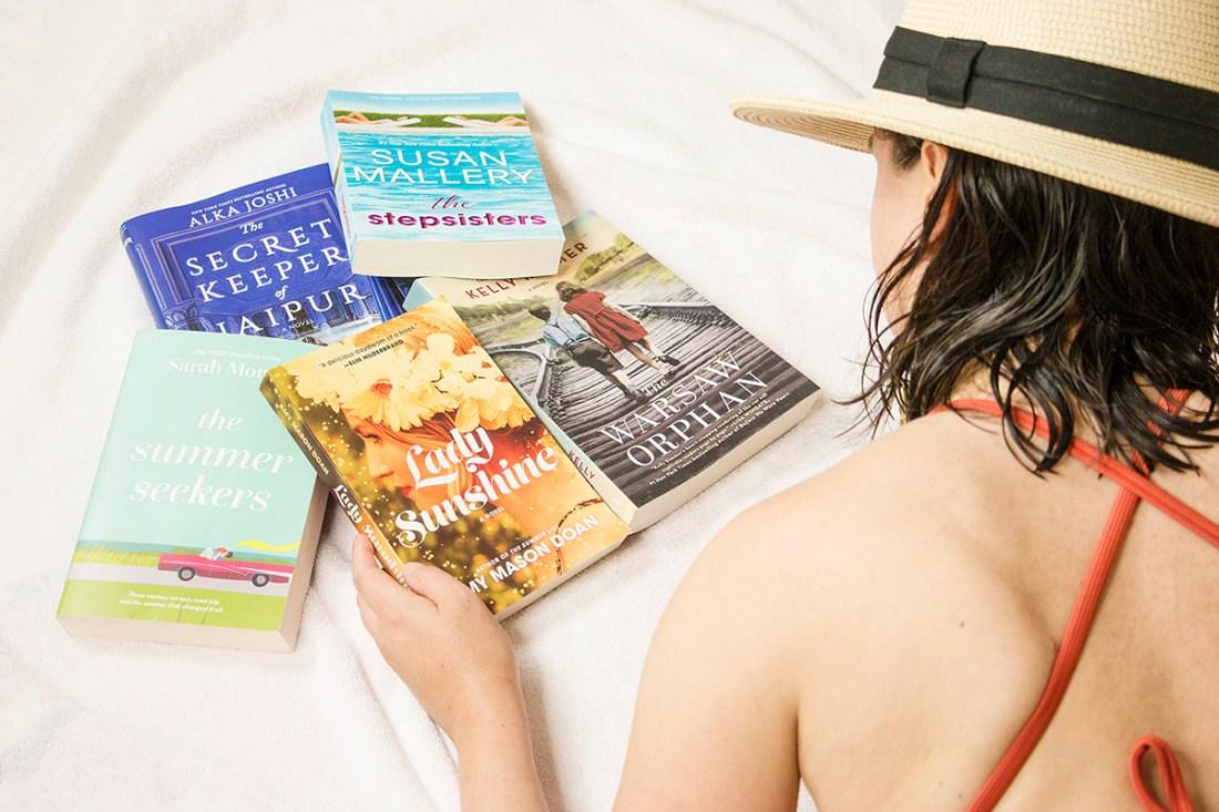 My Summer 'Beach Read' Book List | A Good Hue