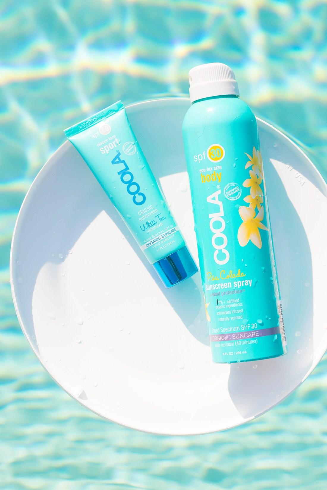 Summer Sunscreen Favorites: COOLA Organic Sunscreens