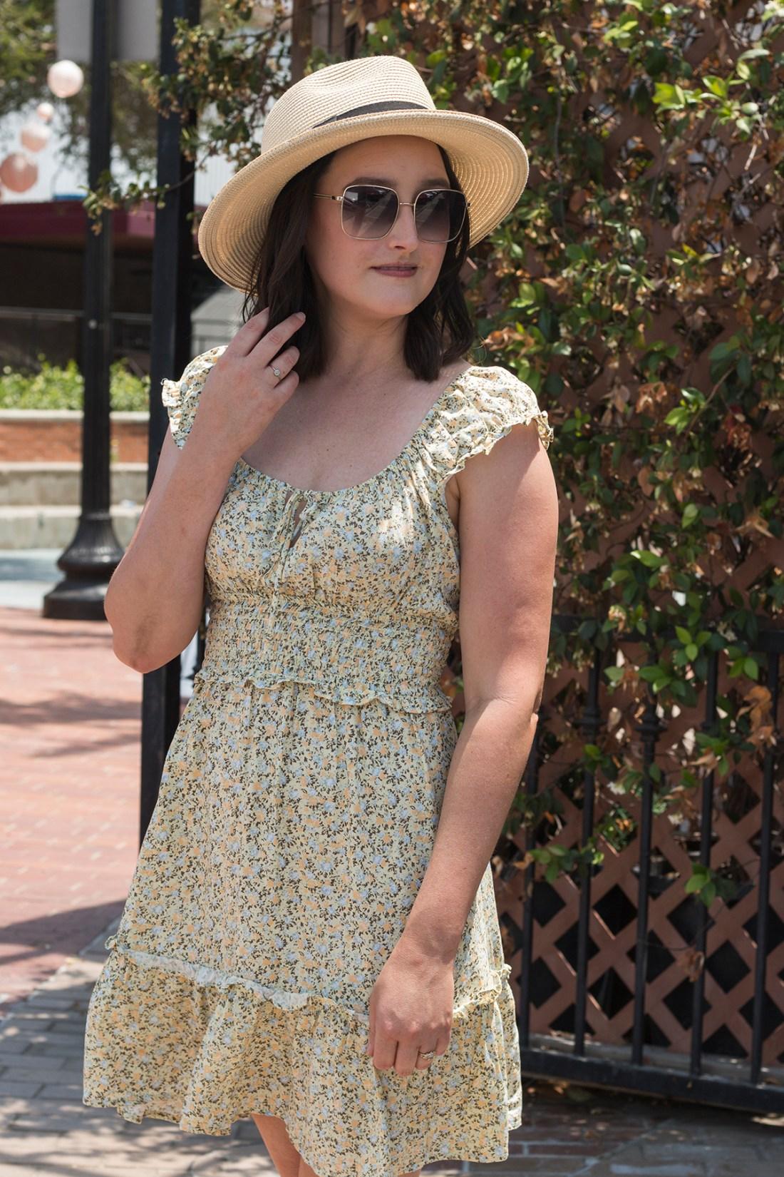 Summer Style: Smocked Dress   A Good Hue
