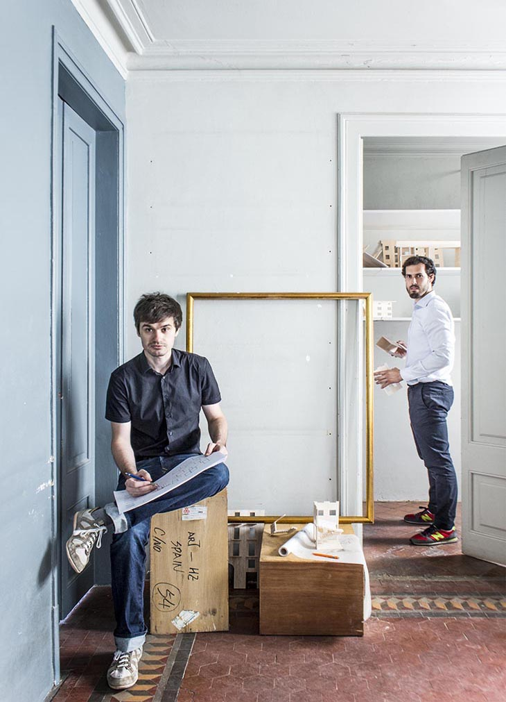 Joan Casals y Jose Luis Cisneros 730 ancho