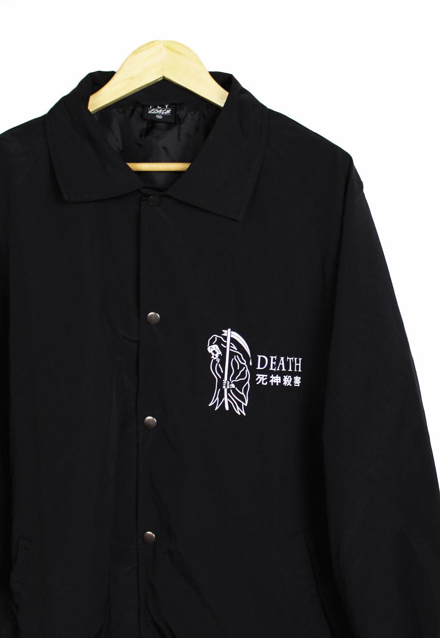 Death Grim Reaper Coach Jacket