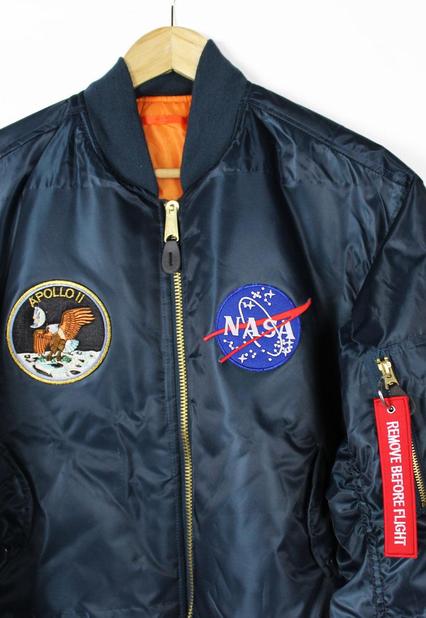 Shop  Vintage  Branded  Outerwear  Apollo 11 NASA