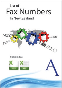 New Zealand Fax Number List