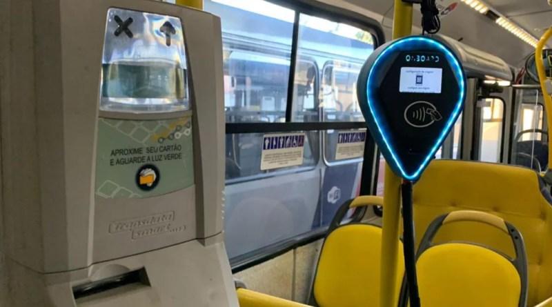 Bilhetagem eletronica ao lado da bilhetagem digital