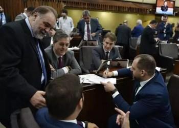 A votação ocorreu na Assembleia Legislativa. Foto: Guerreiro /AL
