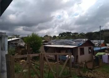 Em Lagoa Vermelha, cerca de 4 mil casas ficaram danificados pelo granizo. Foto: Divulgação/Defesa Civil