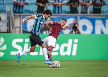 O time do Caxias controlou a partida. Foto: Lucas Uebel/Divulgação