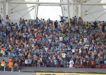 Torcida do Grêmio no Beira-Rio. Foto: Lucas Uebel/Divulgação