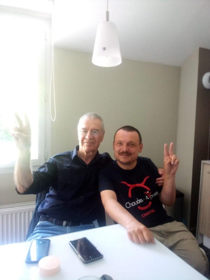 Gregory Pasquier et Fourtillan à sa libération