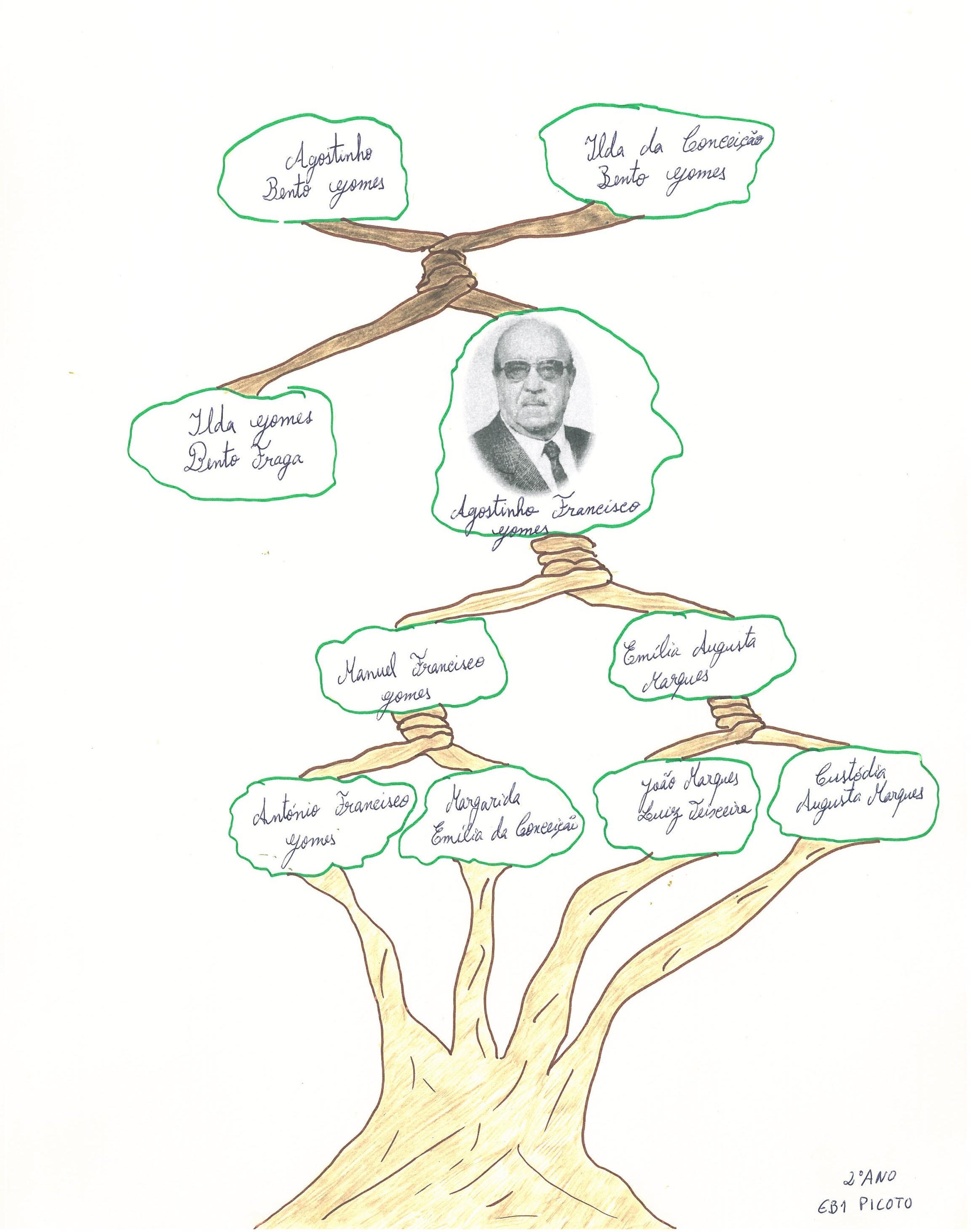 Árvore Genealõgica