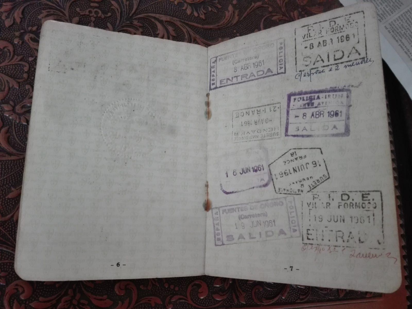 Passaporte - carimbos