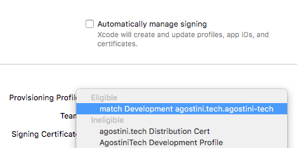 Simple Code Signing With match | agostini tech