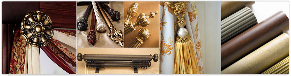 wood curtain rods agoura hills upholstery