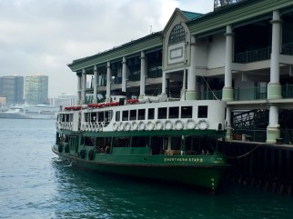 The famous Star Ferry
