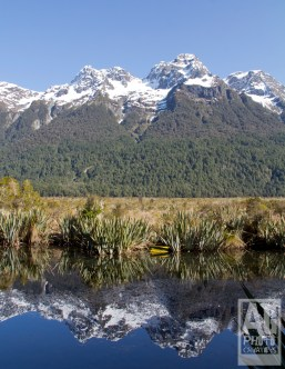 Mirror Lake Fiordland National Park