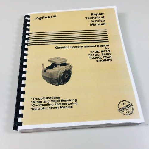 small resolution of  onan p216 218 agpubs engine technical service manual for onan b43e b43g p218g b48g on onan charging wiring diagrams
