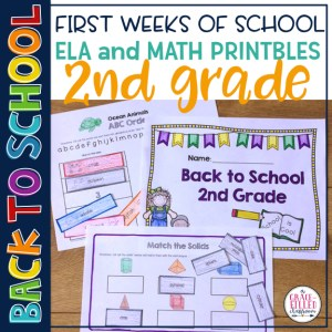 Back To School 2nd Grade