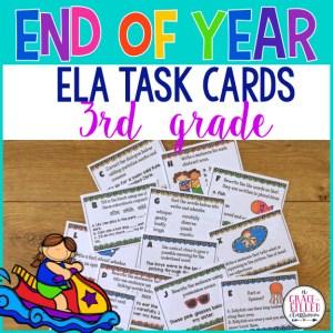 ELA Task Cards 3rd grade