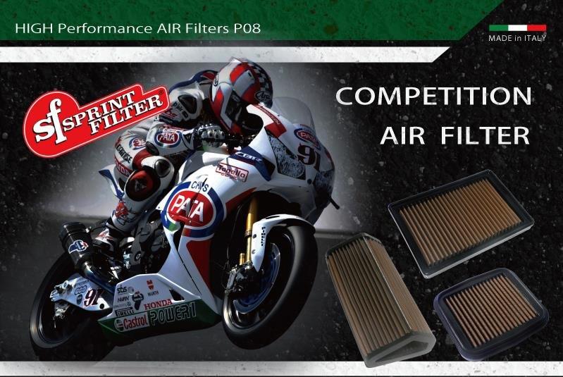 Sprint Filter os melhores filtros de ar do mundo para moto