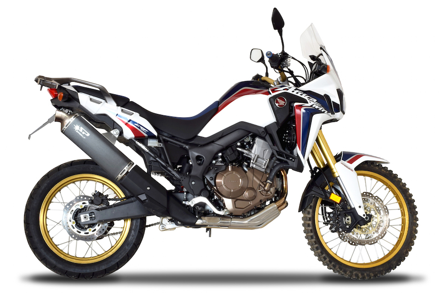 Africa Twin 2016 - Espaces Spark Exhaust Technology