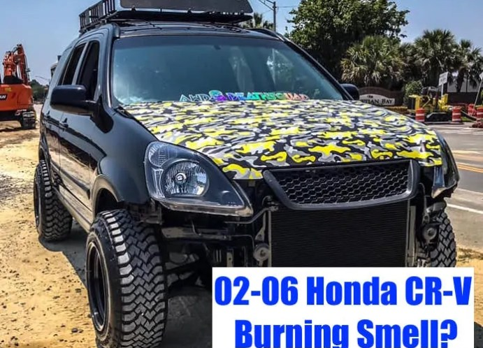 Honda CR-V (02-06) Burning Smell After Driving (Sticky Brake