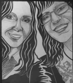 'Me and Mom' Il Volo Concert at the NYCB Theatre at Westbury, New York September 2013 Finished Drawing