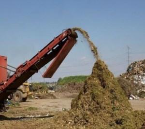 prikaz pogona za obradu zelenog otpada