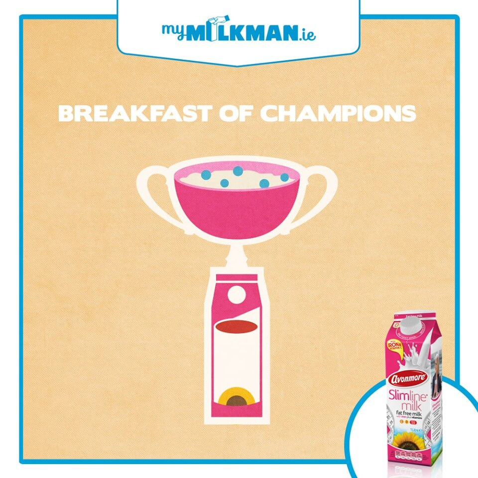 MyMilkman.ie - Breakfast of champions