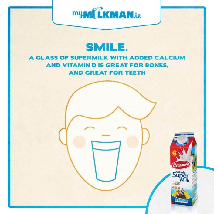 MyMilkman.ie – Smile / design by Aga Grandowicz / agrand.ie