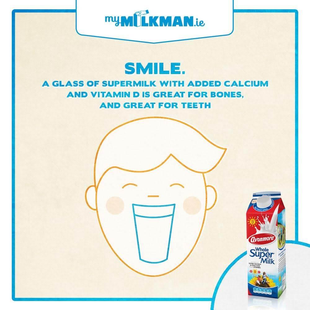 MyMilkman.ie – Smile / design by Aga Grandowicz / agrand.ie