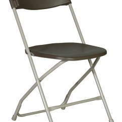 Party Folding Chairs Fabric Parsons Brown Plastic Chair A Grand Affair Rentals