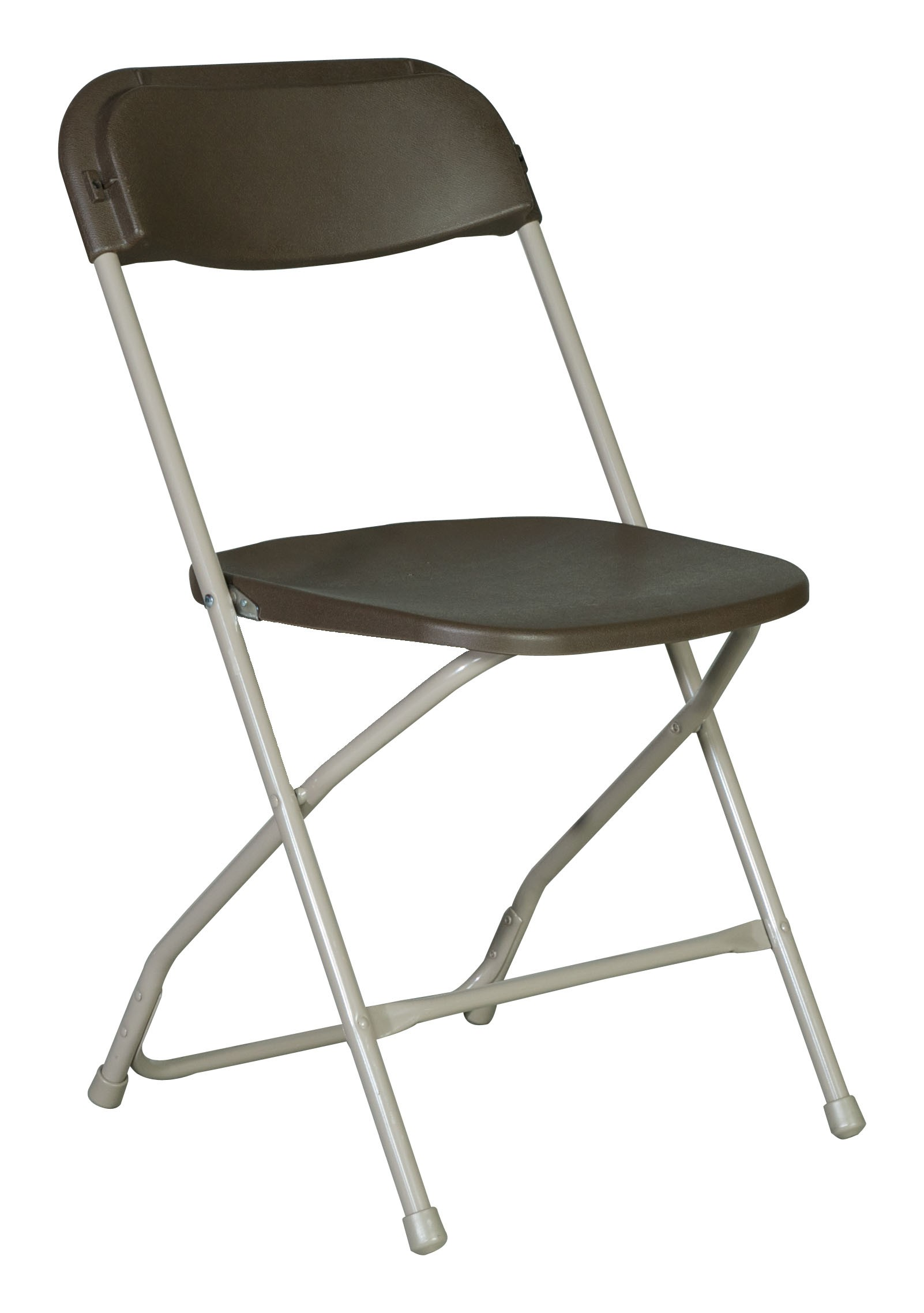 Aluminum Folding Chair Brown Plastic Folding Chair A Grand Affair Rentals