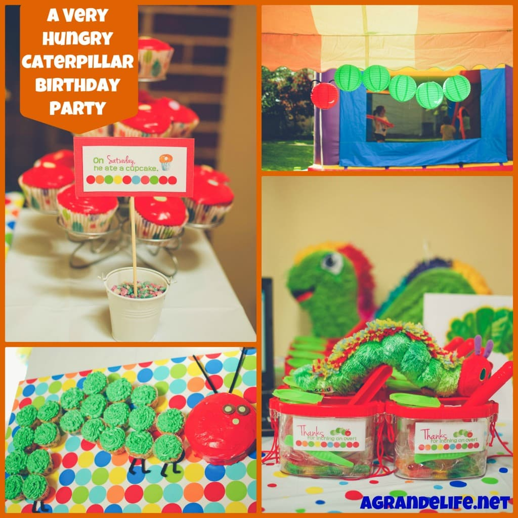 A Very Hungry Caterpillar Birthday Party