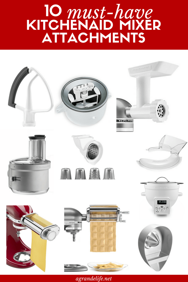 kitchen aid attachments counter island 10 must have kitchenaid mixer a grande life