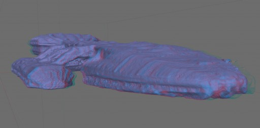 A 3D view of recent Galactica mesh.