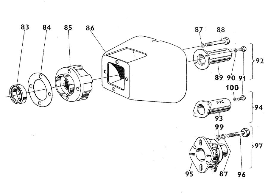 Zetor 5211 Transmission mechanism parts » Agrapoint