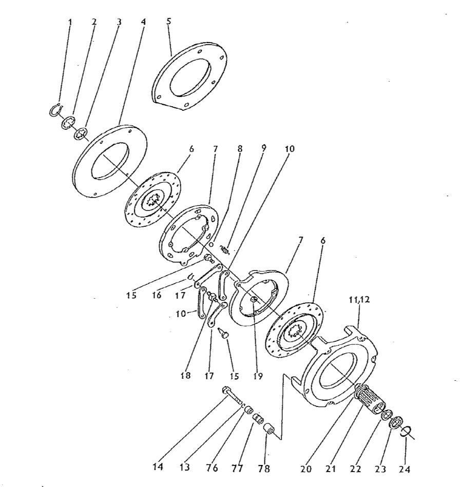 Zetor 5211 Bremse Fussbremse Ersatzteile » Agrapoint