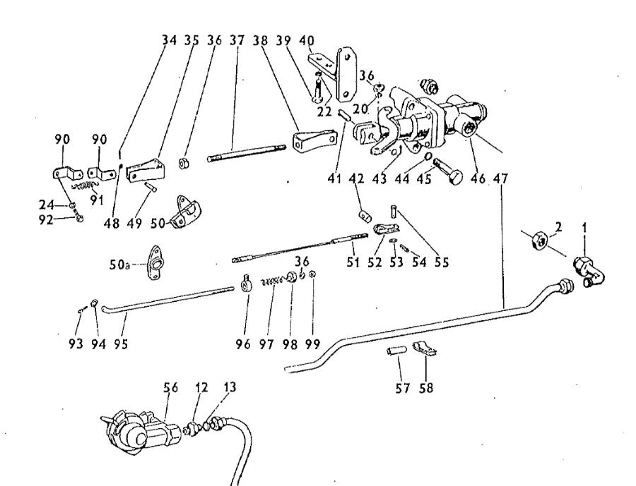 Zetor 5211 Luftanlage Luftbremse Ersatzteile » Agrapoint