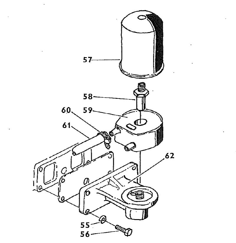 Zetor 7745 Turbo Motor Motorschmierung Ersatzteile