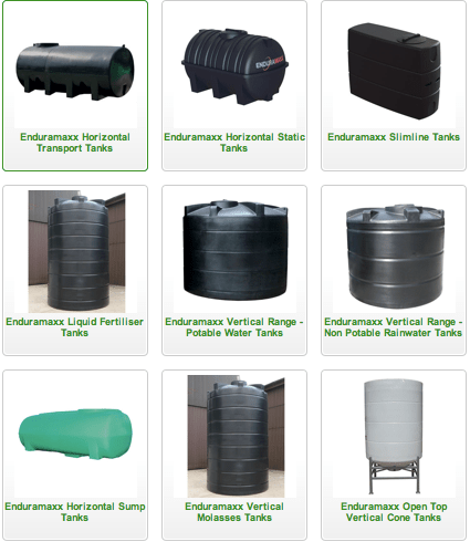 Tanks Range available from Agratech