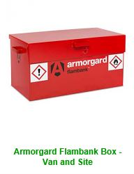 Armorgard Flambank Box - Van and Site
