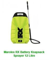 Marolex RX Battery Knapsack Sprayer 12 Litre