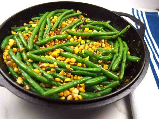 Corn and Green Bean Skillet